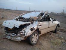 حادثه  در محور انار – شهربابک + عکس