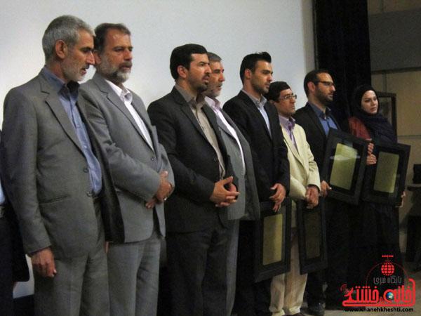گزارش تصویری/ حضور عوامل «شیار ۱۴۳» در رفسنجان