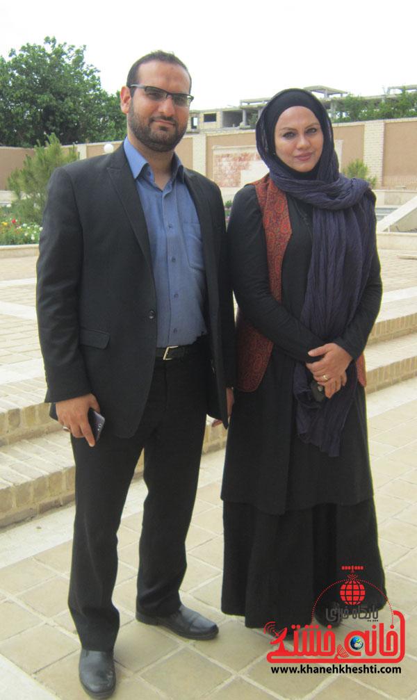 نرگس آبیار  و محمد حسین قاسمی