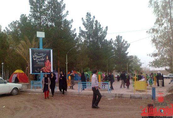گزارش تصویری/سیزده بدر در جوار امامزاده سیدجلال الدین رفسنجان