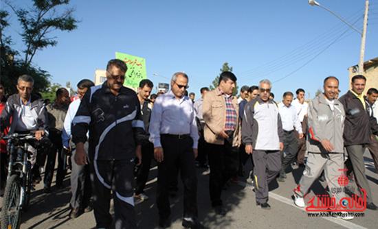 پیاده روی کارکنان دانشگاه علوم پزشکی رفسنجان (2)