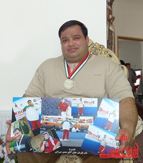 مسئولین منصور پورمیرزایی را برای شرکت در پارالمپیک حمایت کنند