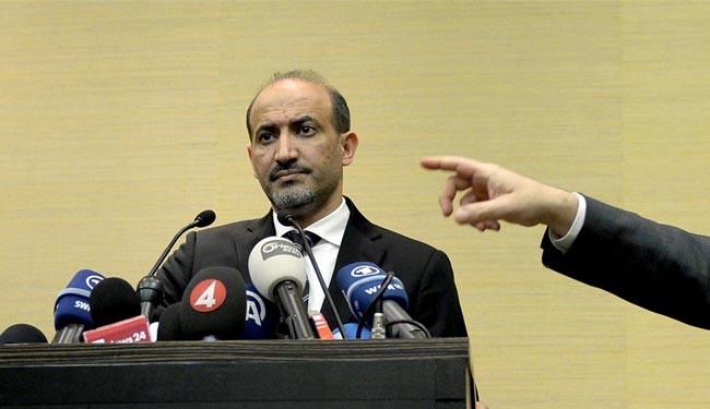 پشت پرده سفر رئیس مخالفان سوریه به عربستان