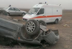 گروه سنی 18 تا 24 سال بیشترین آمار تصادفات در رفسنجان