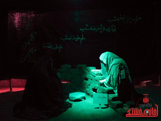 گزارش تصویری/ نمایشگاه صبر زینبی در رفسنجان