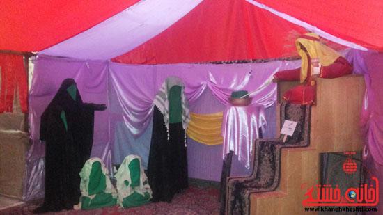 نمایشگاه «صبر زینبی» در رفسنجان، تا پایان هفته تمدید شد