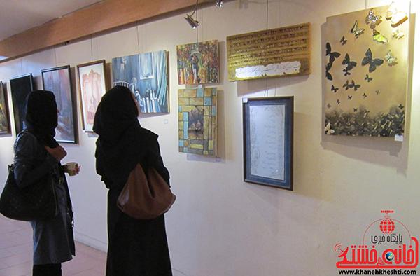 نمایشگاه نقاشی پروانه شدن