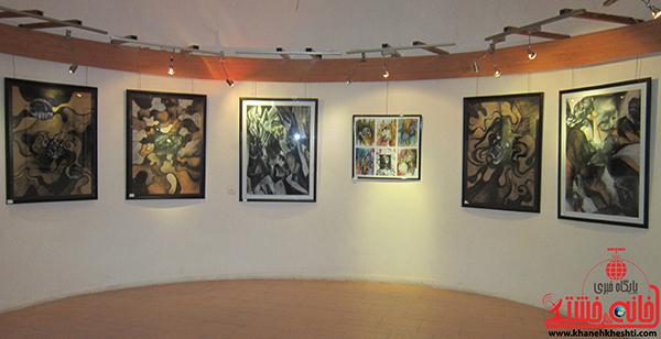 نمایشگاه نقاشی پروانه شدن1