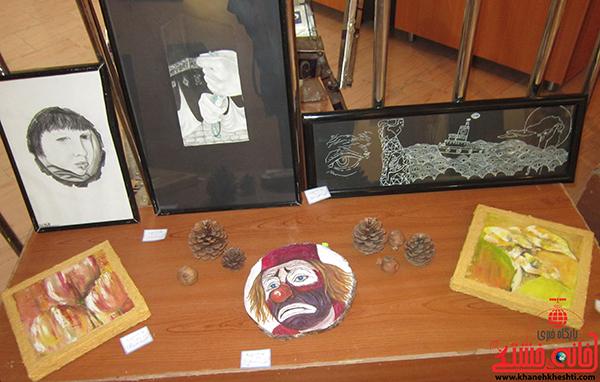 نمایشگاه نقاشی پروانه شدن14