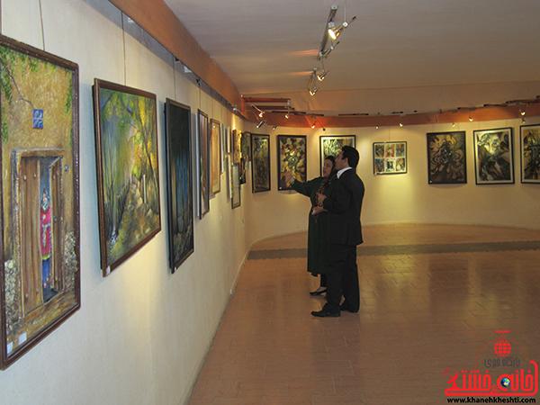 نمایشگاه نقاشی پروانه شدن17