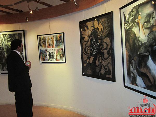 نمایشگاه نقاشی پروانه شدن20