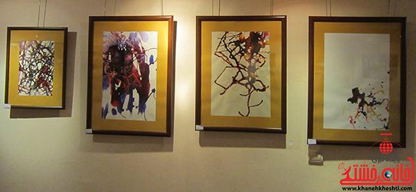نمایشگاه نقاشی پروانه شدن4