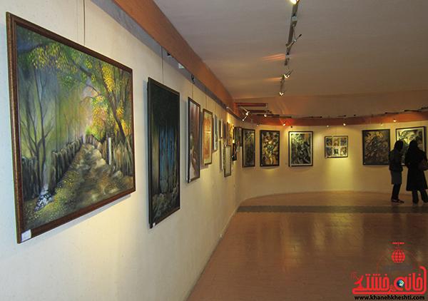 نمایشگاه نقاشی پروانه شدن6
