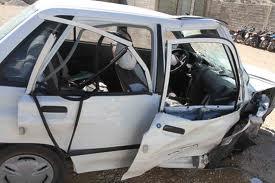 حادثه تلخ محور انار به شهربابک با۵ کشته و زخمی