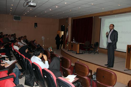 کارگاه آموزشی چالش های صنعت در مهندسی و مدیریت کیفیت-رفسنجان (2)