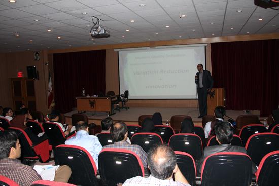 کارگاه آموزشی چالش های صنعت در مهندسی و مدیریت کیفیت-رفسنجان