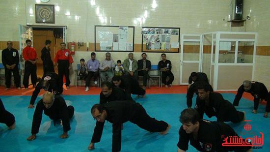 مجوز ورزش کونگ فوتوا 21 برای رفسنجان صادر شد
