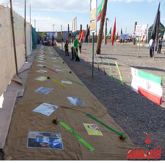 یادواره شهدای لاهیجان رفسنجان-خانه خشتی
