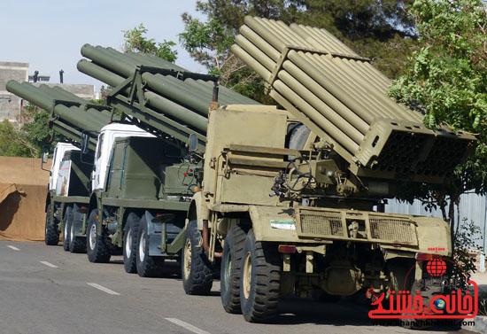 گزارش تصویری/یادواره ۱۷۲ شهید توپخانه صاعقه رفسنجان