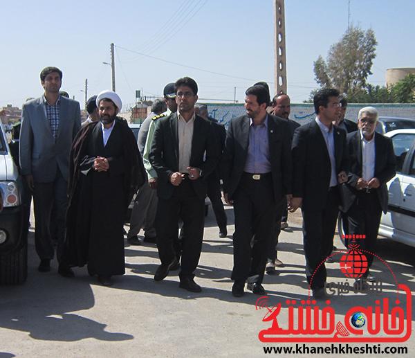 دوربین خانه خشتی/افتتاحیه هشتمین جشنواره بازیهای بومی و محلی با حضور مسئولین کشوری در رفسنجان