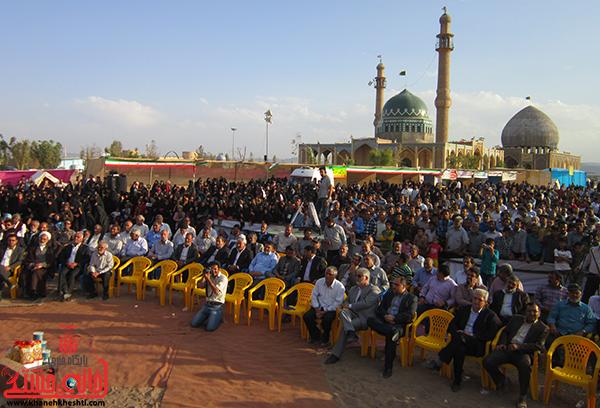 دوربین خانه خشتی/اختتامیه جشنواره بازیهای بومی و محلی کشور در بهرمان رفسنجان