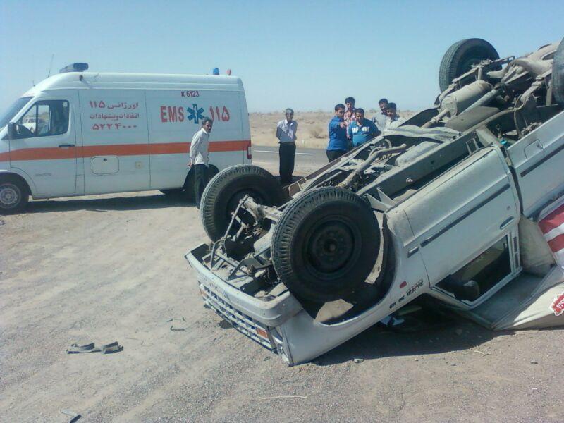 ۴ کشته در تصادفات ماه گذشته رفسنجان + تصاویر