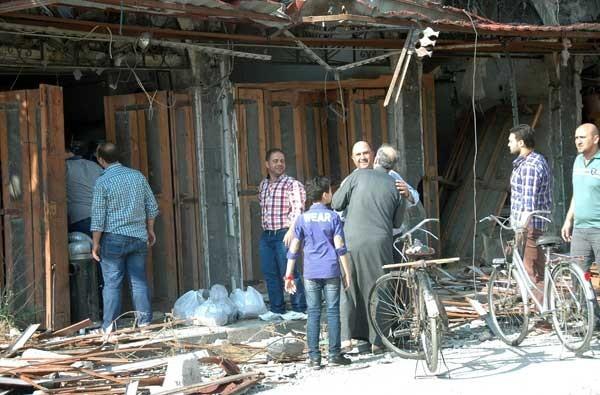 بازگشت زندگی به حمص قدیم + فیلم و عکس