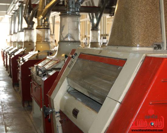 تأمین 95 درصد آرد شهرستان با توکل 90 نیروی فعال