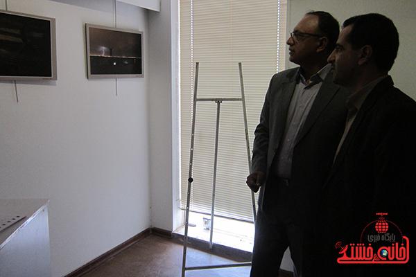 افتتاحیه نمایشگاه عکس بمناسیت هفته فیلم و عکس