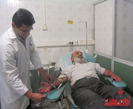 اهداکنندگان خون رفسنجان-خانه خشتی-تقدیر (3)