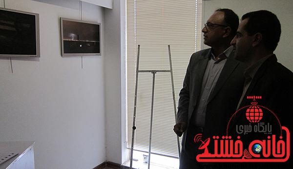 بازدید دکتر ارسلان معاون سیاسی فرمانداری رفسنجان از نمایشگاه عکس