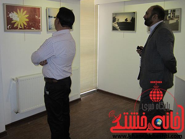 بازدید غلامحسینی شهردار منطقه2 از نمایشگاه عکس