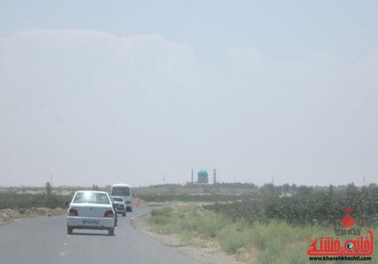 بازدید فرماندار رفسنجان از دهستان رضوان13