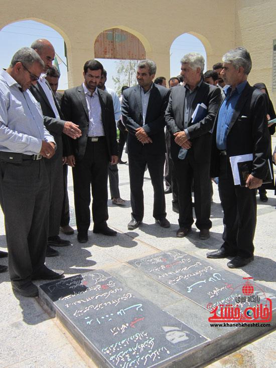 بازدید فرماندار رفسنجان از دهستان رضوان15
