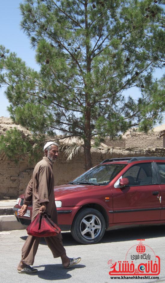 بازدید فرماندار رفسنجان از دهستان رضوان17
