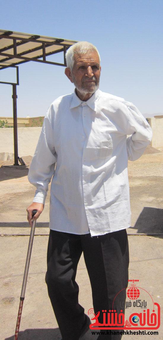بازدید فرماندار رفسنجان از دهستان رضوان18