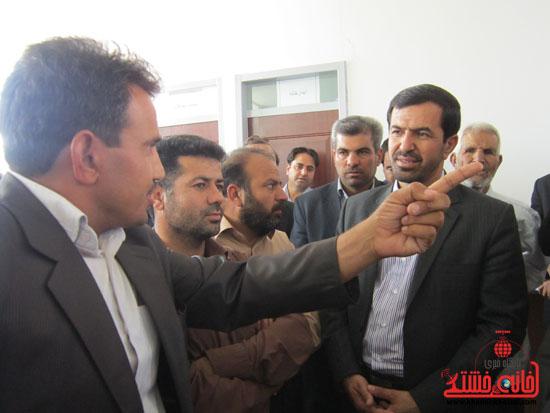 بازدید فرماندار رفسنجان از دهستان رضوان19