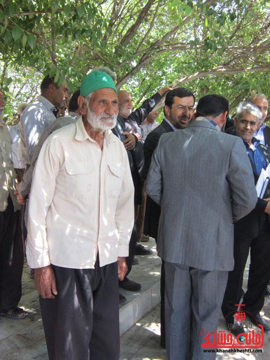 بازدید فرماندار رفسنجان از دهستان رضوان24