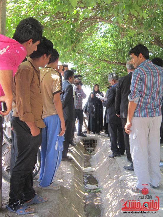 بازدید فرماندار رفسنجان از دهستان رضوان26