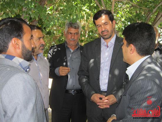 بازدید فرماندار رفسنجان از دهستان رضوان28