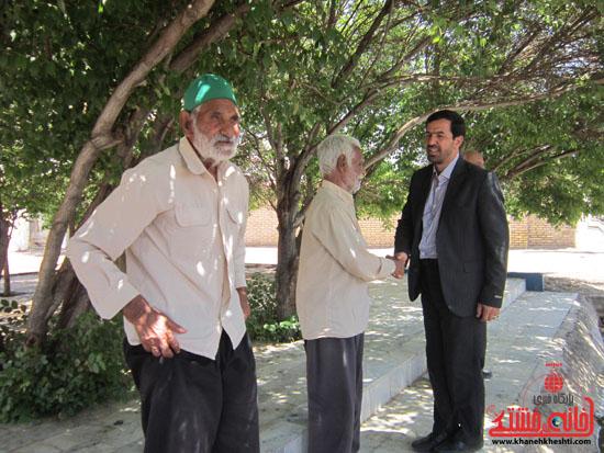 بازدید فرماندار رفسنجان از دهستان رضوان29