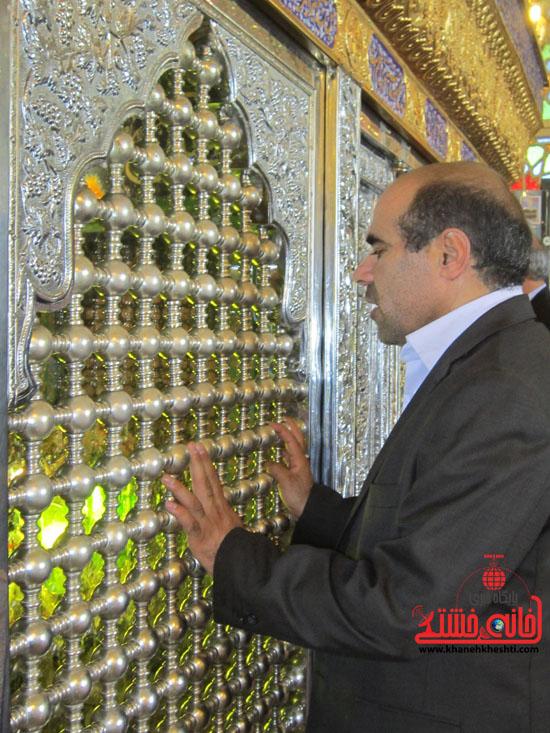 بازدید فرماندار رفسنجان از دهستان رضوان3