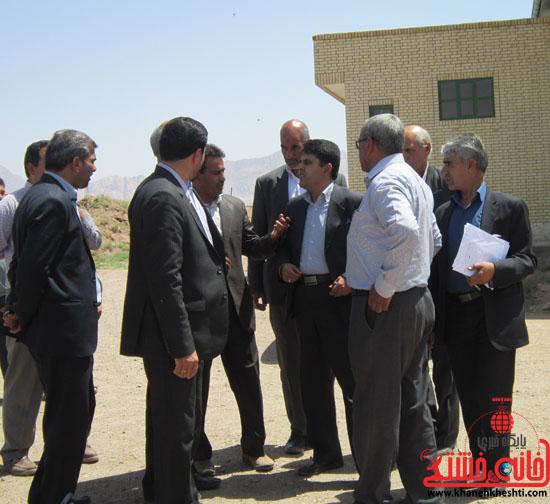 بازدید فرماندار رفسنجان از دهستان رضوان32