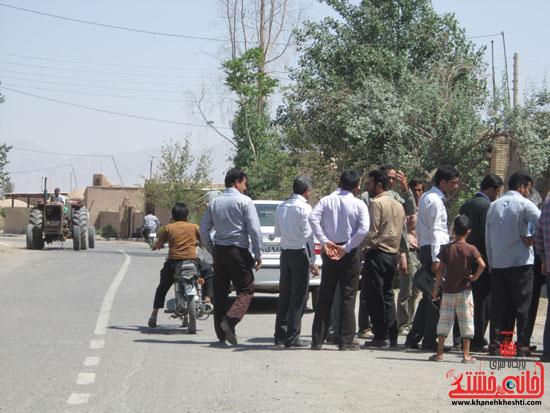 بازدید فرماندار رفسنجان از دهستان رضوان34