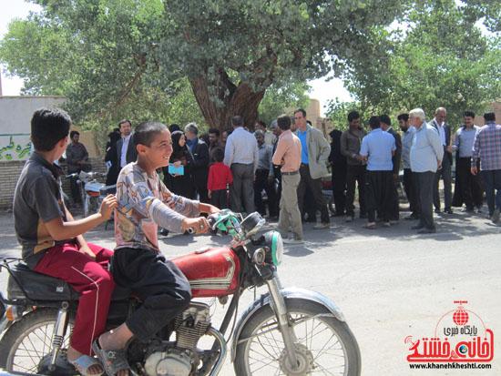 بازدید فرماندار رفسنجان از دهستان رضوان35