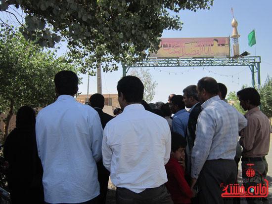 بازدید فرماندار رفسنجان از دهستان رضوان36