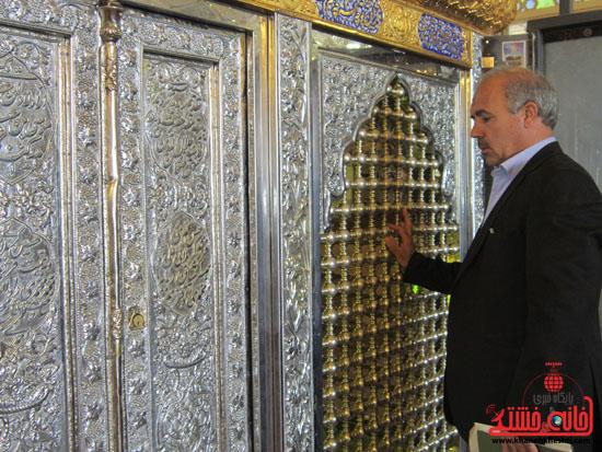 بازدید فرماندار رفسنجان از دهستان رضوان4