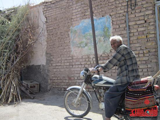 بازدید فرماندار رفسنجان از دهستان رضوان43