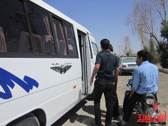 بازدید فرماندار رفسنجان از دهستان رضوان49