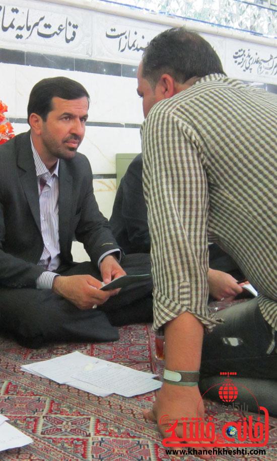بازدید فرماندار رفسنجان از دهستان رضوان6